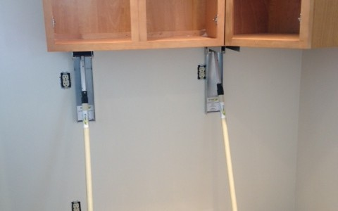 how to hang cabinets by yourself