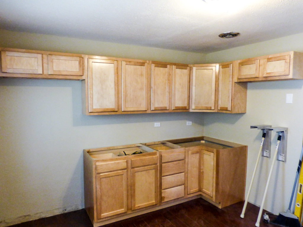 how to kitchen cabinet install